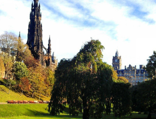 Giving Thanks Daily: Weekend in Edinburgh