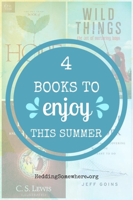 4 books to enjoy this summer