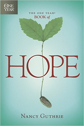 The One Year Book of Hope Nancy Guthrie